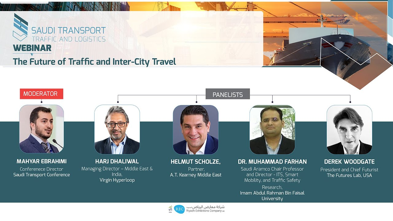 Saudi Transport Webinars: The Future of Transporation, Traffic and Inter City Travel